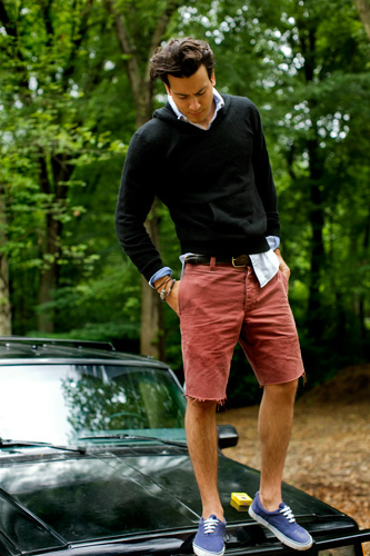 Mens Coral Shorts - The Else