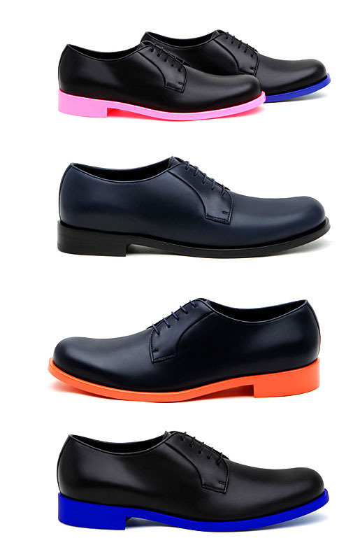 mens dress shoes colored soles images